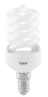 Лампа КЛ-13 6500 Е14 спираль GENERAL