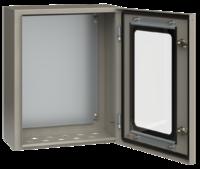 Щит ЩМП-2 (500х400х220) IP54 с проз.дв.   ИЭК