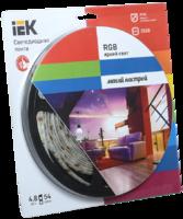 Лента светодиод. 54LED 4,8W IP65 RGB (5м) ИЭК