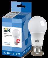 Лампа LED Е27 13W 6500 A60 шар   ИЭК