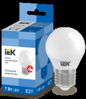 Лампа LED Е27 7W 6500 G45   ИЭК