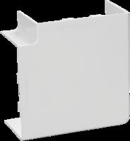 Угол плоский 40х40 ИЭК   (уп. 4шт)