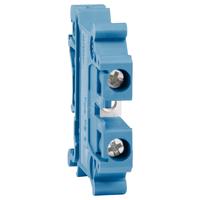 Клемма проходная OPtiClip TB-6-I-BU-41A(1.5-6) синий
